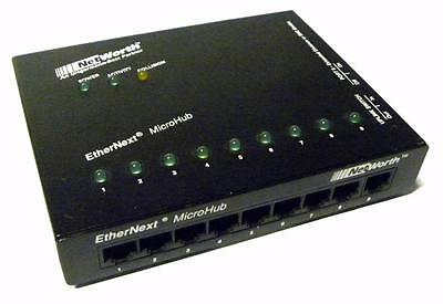 Networth Ethernext Microhub Rev E With 9 Volt Adapter