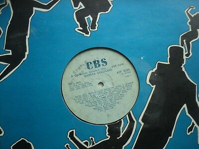 Barbra Streisand - Greatest Hits - Super rare ZIMBABWE SAMPLE not for sale LP