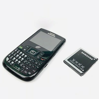 Samsung SCH-R375C (GP) Black With Battery, No Charger. TracFone Wireless Inc