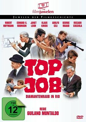 Giuliano Montaldo - Top Job - Diamantenraub in Rio, 1 DVD