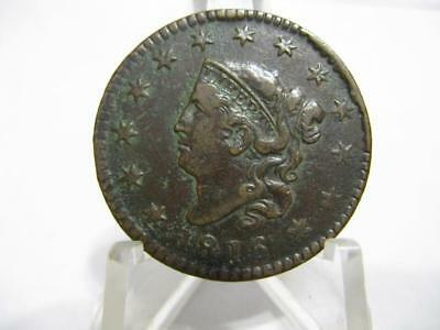 Extremely Very Very Rare 1816 Matron Head Large Cent Extra Fine Condition