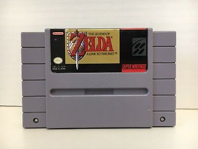 SNES The Legend of Zelda A Link To The Past Super Nintendo Entertainment System