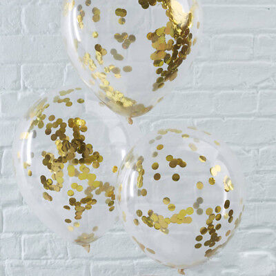 20pcs/set 12inch Latex Confetti Filled Balloons  for Wedding Birthday Decor 66