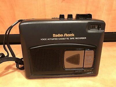Radio Shack CTR-96 Portable Cassette Player Voice Recorder 14-1105 Tested