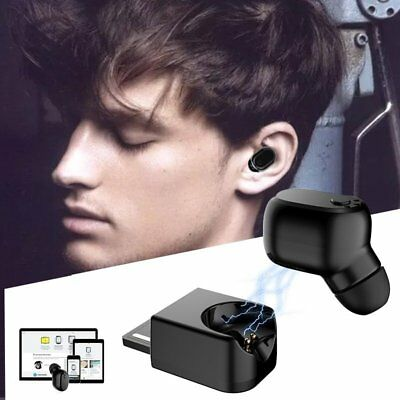 Magnetic Wireless Bluetooth Stereo In-Ear Headset Earphone Earbud Handsfree US