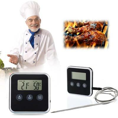 Eddingtons Digital Professional Timer Meat Thermometer Remote Probe Oven