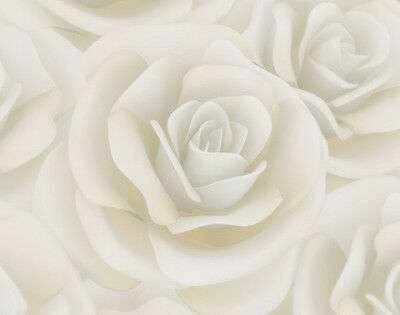 SET OF 6 X PERSONALISED 89 x120.7MM CREAM ROSE  WINE BOTTLE LABELS