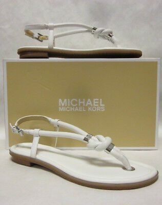 MICHAEL KORS WOMEN HOLLY JELLY THONG SANDALS Ankle Strap Rope ... 370a95a224e