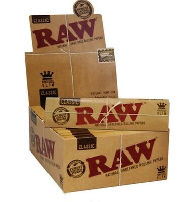 RAW Rolling Papers King Size Slim 5 packs