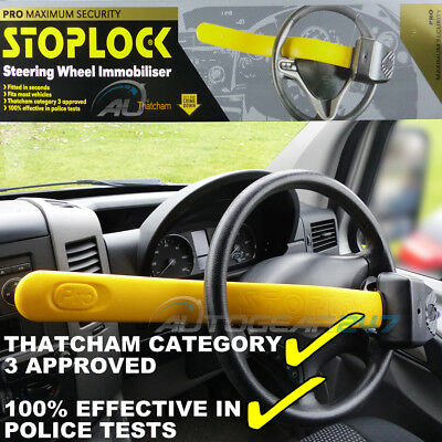Stoplock Thatcham CAT 3 VAN Steering Wheel Imobiliser Security Anti-Theft Lock