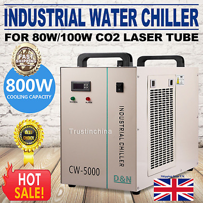 CW-5000 Water Chiller CNC/CO2 Laser Cutter/Engraver CW5000 220V UK fast shipping