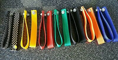 4x race car door pull handles interior grab straps mix and match coulers