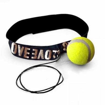Ball Tennis Boxing Fight with Head Band for Reflex Reaction Training oz *j l