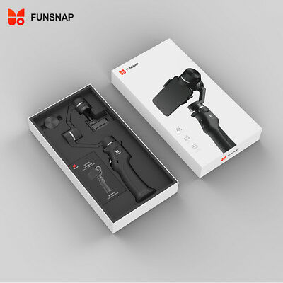 FUNSNAP Capture 3-Axis Brushless Handheld Gimbal for iPhone Samsung Cellphone