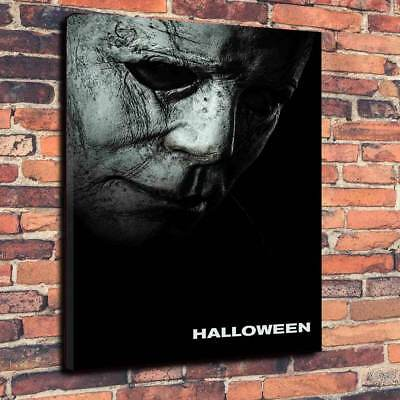 Halloween 2018 Printed Canvas Picture Multiple Sizes, Horror, Michael Myers