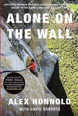 Alone on the Wall (Expanded edition) by Alex Honnold 0393356140 Paperback NEW