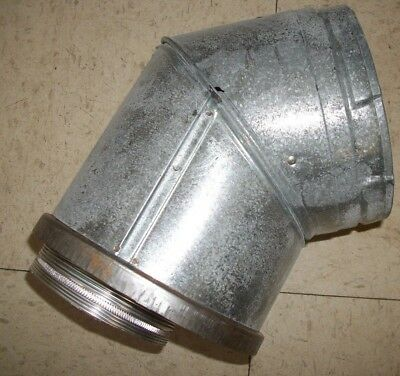 Simpson Dura-Vent TGS45 Elbow Adapter Chimney Fireplace Stove Heating HVAC Gas