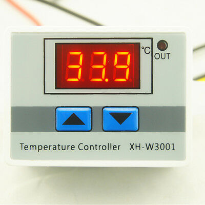 XH-W3001 Digital Control Temperature Microcomputer Thermostat Switch BC
