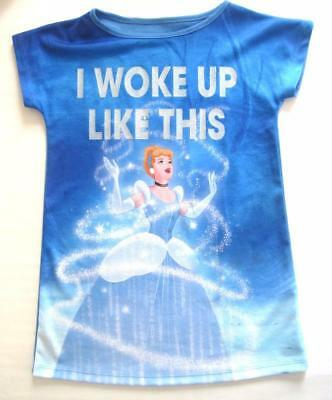 girls new faMoS st disney cinderella nightie night dress age 9-10 years princess