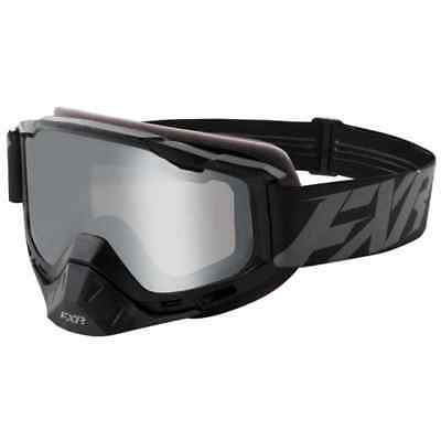 FXR Racing F19 Boost Clear Lens Black Ops Mens Winter Sports Snowmobile Goggles