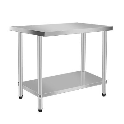 "24"" x 30"" Stainless Steel Work Prep Table Commercial Kitchen Restaurant New VN"