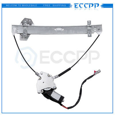 Power Window Regulator for 2001-2005 Honda Civic 2D Coupe Front Left with Motor