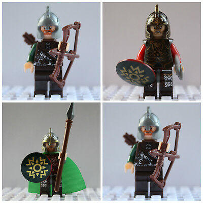 Lord Of The Rings Hobbit Mini Figures King Theoden,Eomer Rohan X 2 Use With lego
