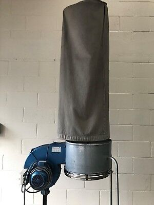 0.75KW Dust Extraction Unit.