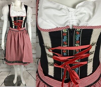 StockerPoint Dirndl Dress Embroidered S Floral Octoberfest Stocker Point Costume