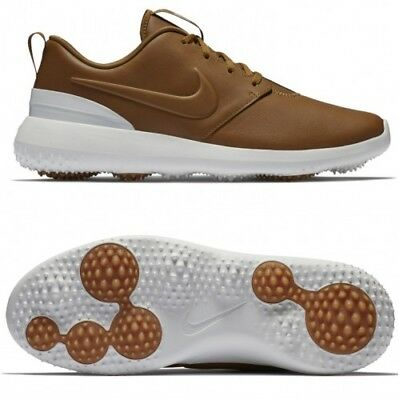 best sneakers 219da 732ab Nike Roshe G Premium Golf Shoes Men s Size 14 Ale Brown   White AA1838 200  NIB