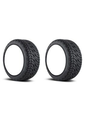 2x Efx Fusion San 205-30-12 Golf Cart Tires 4P 4-Ply Sbieco 18.5 ""