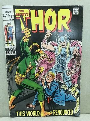 Marvel Comics - Mighty Thor Vol. 1  #167 (1969)