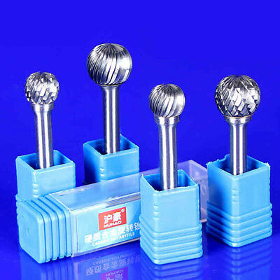 6mm Shank Tungsten Carbide Rotary File Burr Grinding Head Bits Mill Cutter