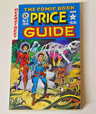 1979 Overstreet Comic Book Price Guide #9 VF/NM Wally Wood EC Homage Cover