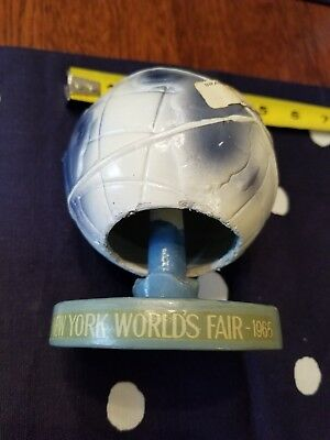VINTAGE 1964-1965 NEW YORK WORLD'S FAIR UNISPHERE w BOX~BOBBLE ACTION~STATUE