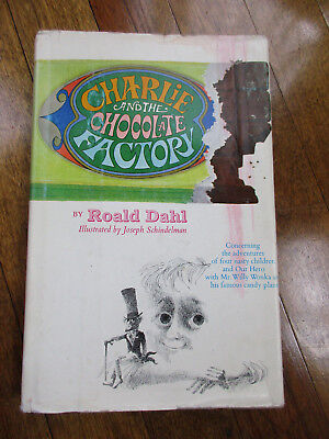 Charlie and The Chocolate Factory Roald Dahl 1964 First Edition (t)