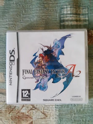 Final Fantasy Tactics A2 Grimoire of the Rift PAL region free DS new sealed
