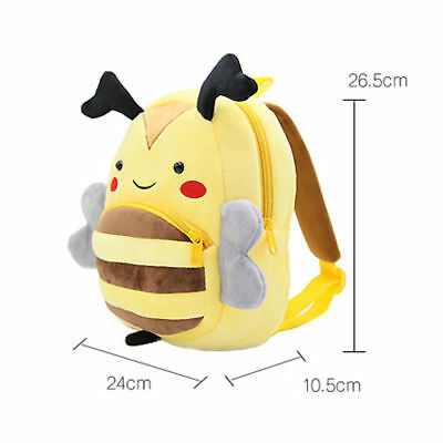 Toddler Backpack PreSchool Zoo Cartoon Kindergaten Plush Bag For Boys & Girls