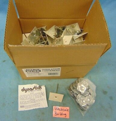 """Duro Dyne Insulation Fasteners 2-1/2"""", 26071, Hangers & Washers  **box Of 100**"""