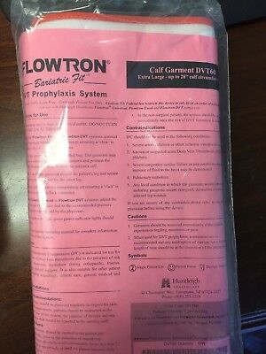 Huntleigh Flowtron Dvt60L Bariatric Fit Xl Large Calf Garment Excel*pair*therapy
