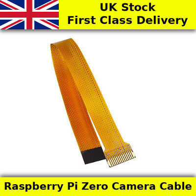 16cm Raspberry Pi Zero Flexible Camera Cable FPC/FFC - UK First Class