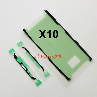 X10  Pre-Cut LCD Adhesive Double Sided Tape Strips For Galaxy S8