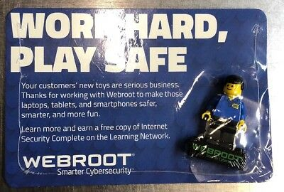 Lego Webroot Minifigure Best Buy Exclusive Geek Squad Minifig Sealed Rare