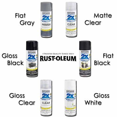 Rust Oleum Painters Touch 2x Ultra Cover Wood Metal Plastic Paint