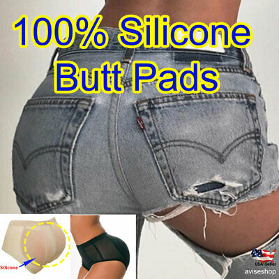 Best Silicone BUTT Padded Removable Pads buttock Enhancer Shaper Brief Panties