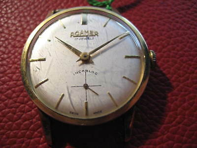 Roamer Herrenuhr Mechanisch HAU. SWISS MADE
