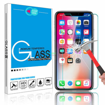 Screen Protector Tempered Glass Protective Film For iPhone XS Max XR 8 6S 7plus