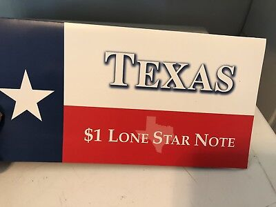Texas 2001 $1.00 Star Note