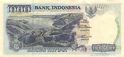 Indonesia 1000 Rupiah 1992 Series FSG Circulated Banknote SD0717W