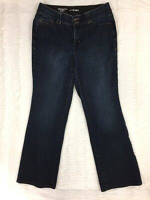 Lane Bryant Womens Jeans Size 16 Average Distinctly Boot Cut Dark Wash